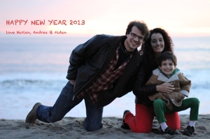 Our New Year's card